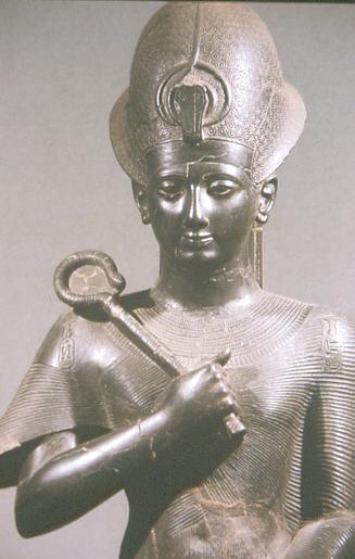 Ramses II., Bronzestatue im Museo Egizio, Turin